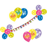 Balloon Deco Set Let's Party
