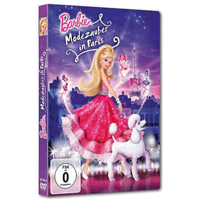 DVD Barbie Modezauber in Paris