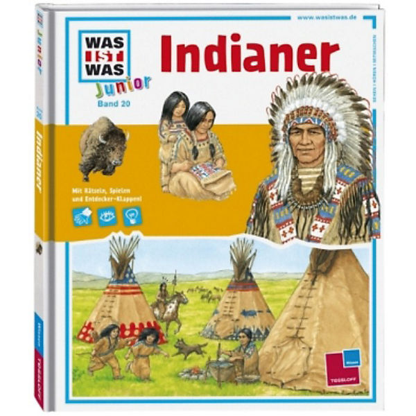 WAS IST WAS Junior: Indianer