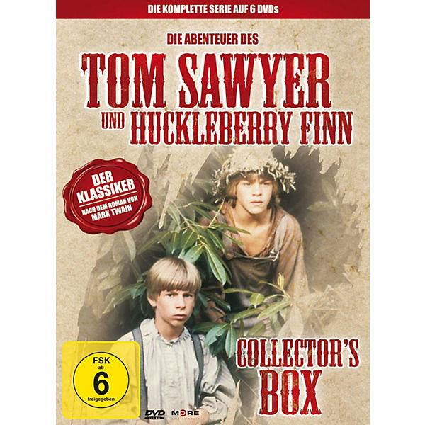 DVD Tom Sawyer & Huckleberry Finn - Collector'S Box