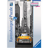 1000 Piece Vertical Panorama Jigsaw Puzzle: New York Taxi