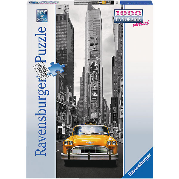 Panorama vertikal Puzzle 1000 Teile New York Taxi