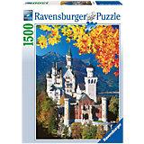 Пазл «Осенний Нойшвандеталейайн» 1500 деталей, Ravensburger