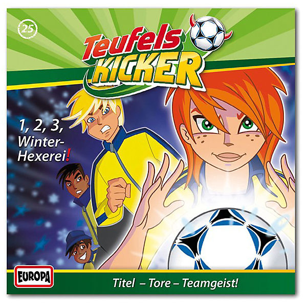 CD Teufelskicker 25 - 1-2-3 Winter- Hexerei!