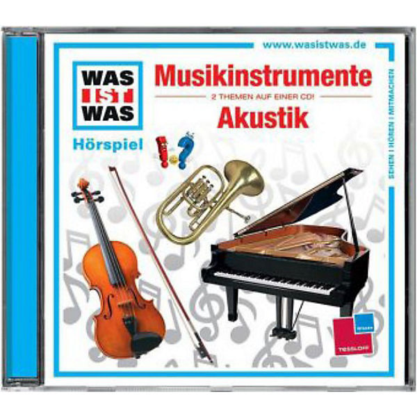 cd was ist was 43 musikinstrumente akustik universal. Black Bedroom Furniture Sets. Home Design Ideas