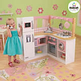 Grand Gourmet Corner Play Kitchen, Wood