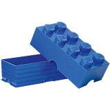 Lego Storage Brick 8er Stein blau