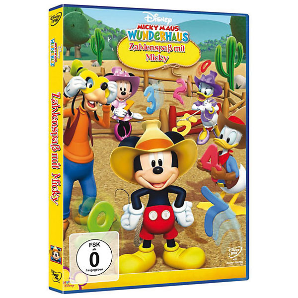 dvd micky maus wunderhaus zahlenspa mit micky disney mickey mouse friends mytoys. Black Bedroom Furniture Sets. Home Design Ideas