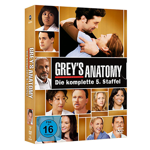 DVD Grey´s Anatomy - die komplette 5. Staffel (7 DVD's)