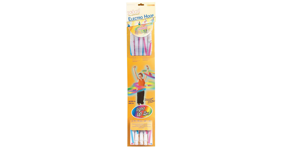 Hula Hoop mit LED-Beleuchtung bunt