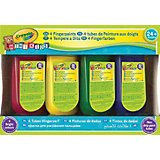 MINI KIDS Fingerfarben, 4 Farben