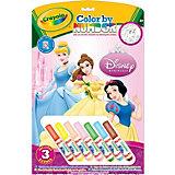 """Раскраска по номерам """"Принцессы"""", Crayola"""