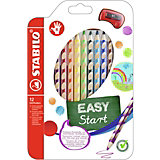 Farbstift EASYcolors R, inkl. Spitzer, 12 Farben