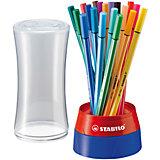 Fasermaler Pen 68 Tischset, 19 Farben