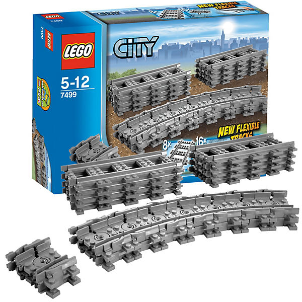 LEGO 7499 City: Flexible Schienen