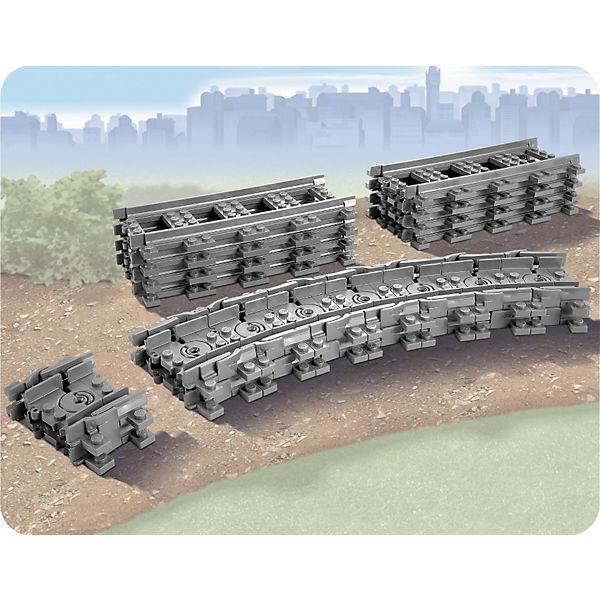 LEGO City 7499: Гибкие рельсы
