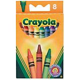 Восковые мелки, 8 шт., Crayola