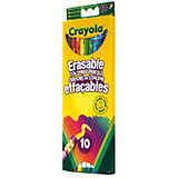 Цветные карандаши (10 шт) с корректорами, Crayola
