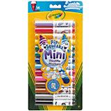 Mini-Fasermaler, 14 Farben, auswaschbar