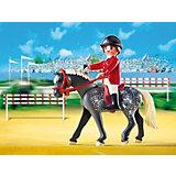 PLAYMOBIL 5110 Конный клуб: Трекерная лошадь со стойлом
