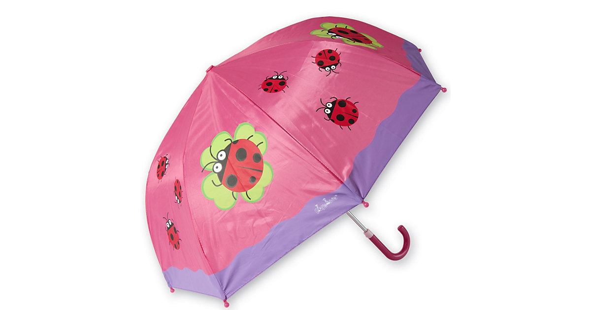 Kinder Regenschirm Glückskäfer pink
