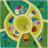 Kinderteppich Spielwelt, 140 x 140 cm