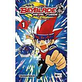 Beyblade Metal Fusion, Taschenbuch Band 1