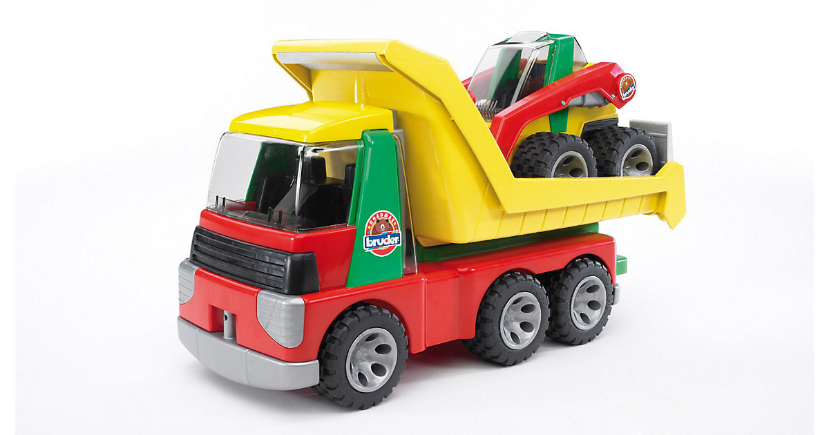 Bruder roadmax transporter mit kompaktlader bestellen