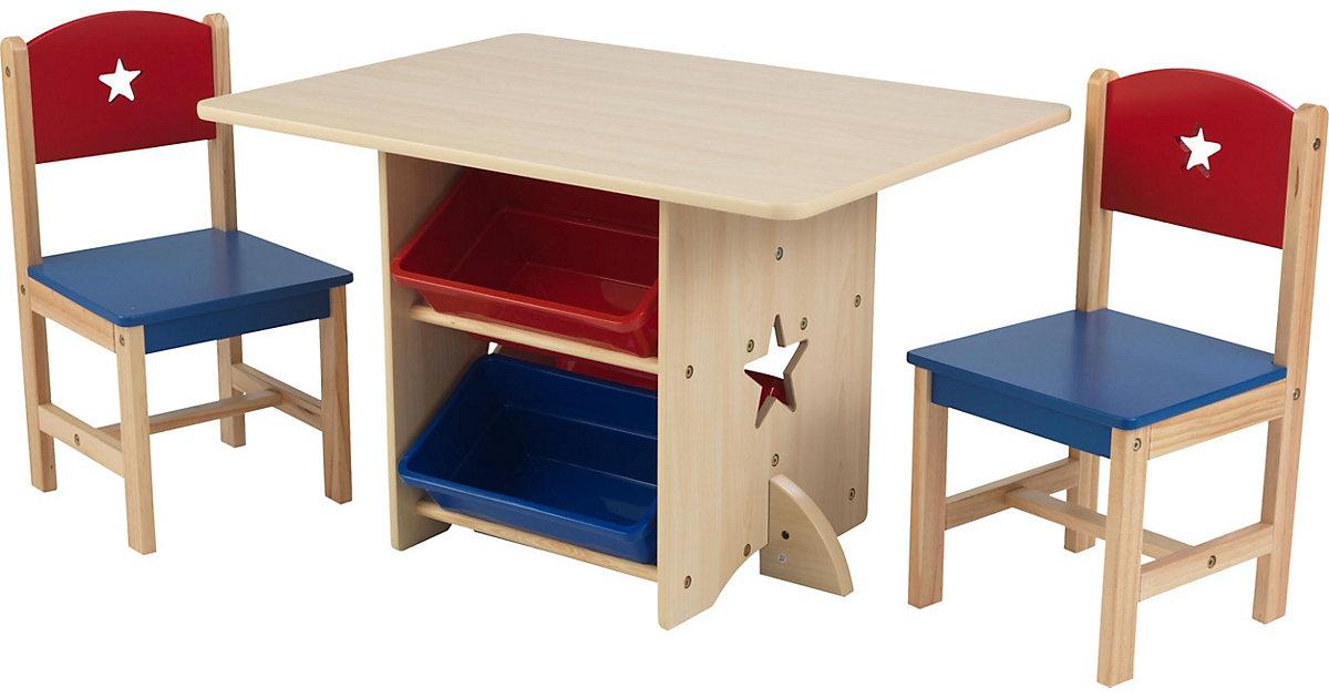 Kindersitzgruppe Star, 7-tlg. braun