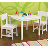 Children's Seating Group Aspen, White, 3 Pieces