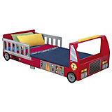 Fire Engine Bed, 70 x 140 cm
