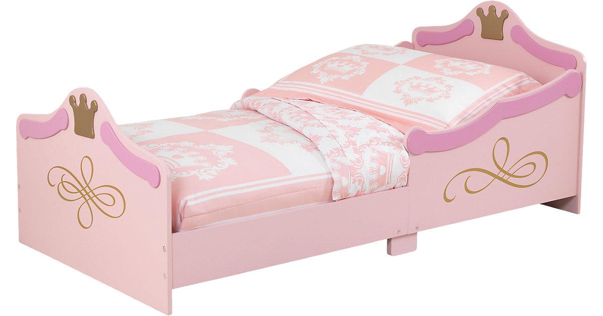Kinderbett Prinzessin, 70 x 140 cm rosa