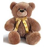 AURORA Мягкая игрушка Медведь темно-коричневый, 40 см