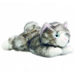 AURORA Мягкая игрушка Котенок серый, 22 см