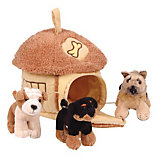 Gulliver Домик-сумка с 3-мя собачками