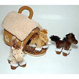 Gulliver Домик-сумка с 3-мя лошадками