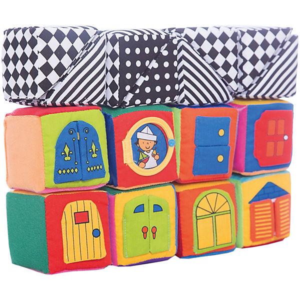 K's Kids Мягкие кубики в коробке