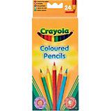 Crayola Набор из 24 цветных карандашей