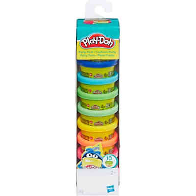 Play-Doh - Knet-Dosen 10er-Pack - Party Turm