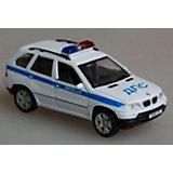 Welly Модель машины 1:34-39  BMW X5 Милиция ДПС