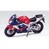 Модель мотоцикла 1:18 MOTORCYCLE / HONDA CBR900RR FIREBLADE, Welly