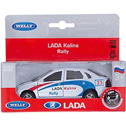 Модель машины 1:34-39 LADA Kalina Rally, Welly