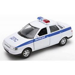 Модель машины 1:34-39 LADA 110 МИЛИЦИЯ ДПС, Welly