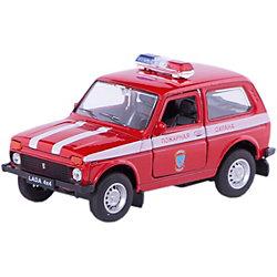 Welly Модель машины 1:34-39 LADA Пожарная охрана