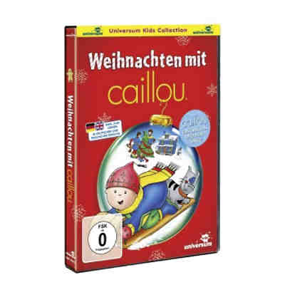 dvd weihnachten mit caillou caillou mytoys. Black Bedroom Furniture Sets. Home Design Ideas