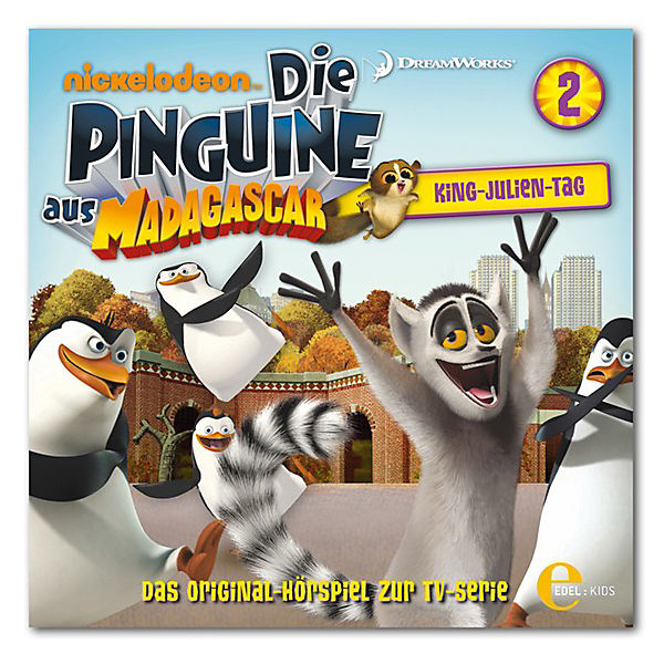 CD Die Pinguine aus Madagascar 02 King- Julien-Tag!