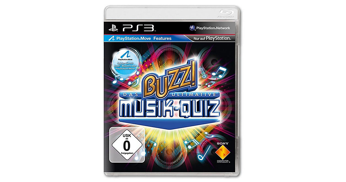 PS3 Buzz! Das ultimative Musik-Quiz Standalone