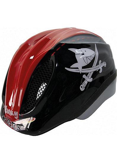 Capt`n Sharky  Fahrradhelm Meggy  Originals schwarz/rot