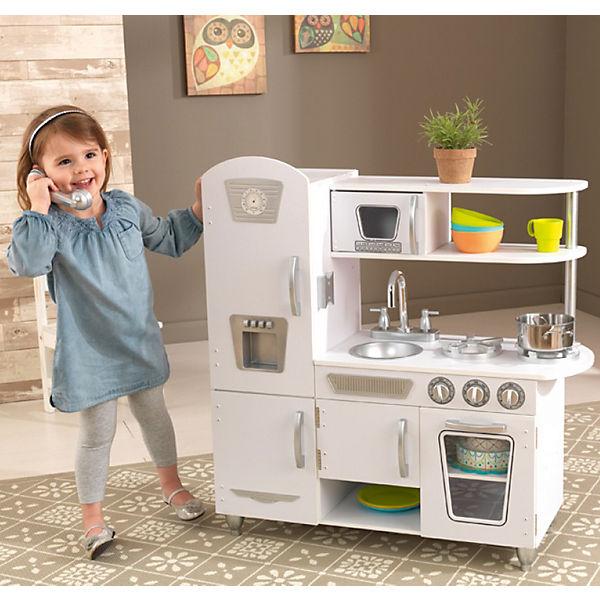 spielk che retro weiss kidkraft mytoys. Black Bedroom Furniture Sets. Home Design Ideas