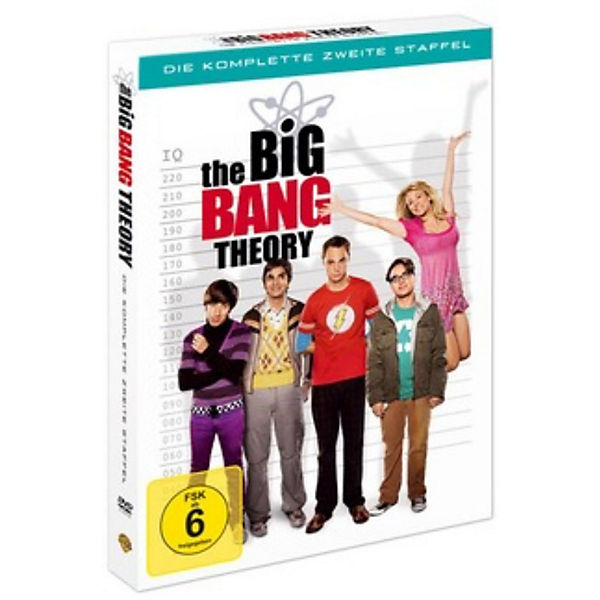DVD The Big Bang Theory - Season 2 (4 DVDs)
